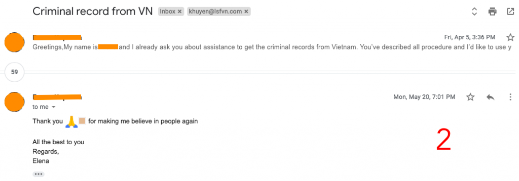 reliable vietnam police check service